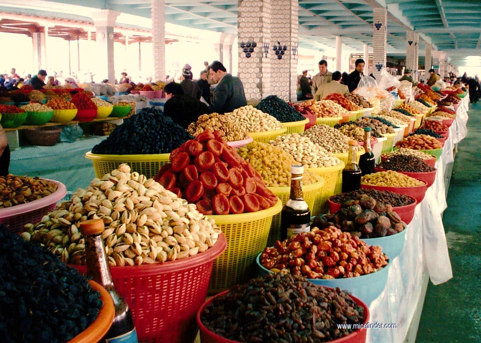 старые фото узбекские базары долгое время